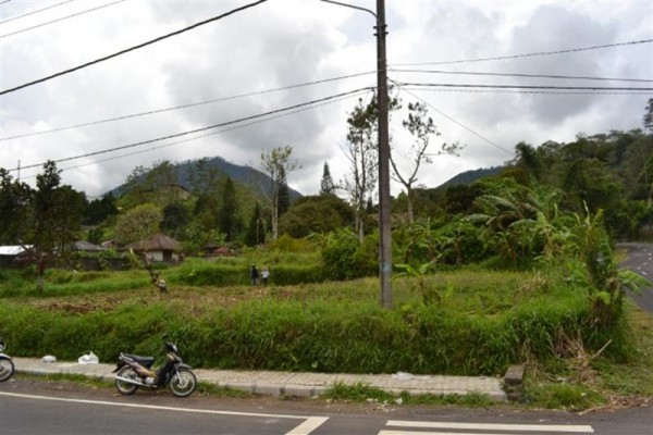 Tanah View Danau dan Gunung dijual di Bedugul, Bali – TJBE015