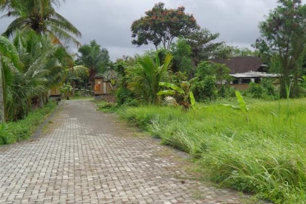 Dijual tanah di Ubud lingkungan villa ( TJUB106 )