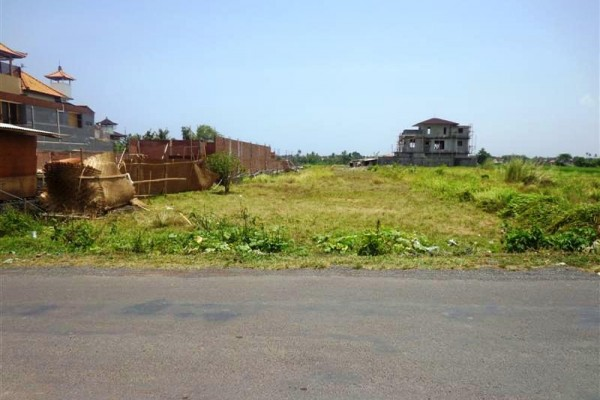Dijual tanah di Canggu lingkungan villa ( TJCG046B )
