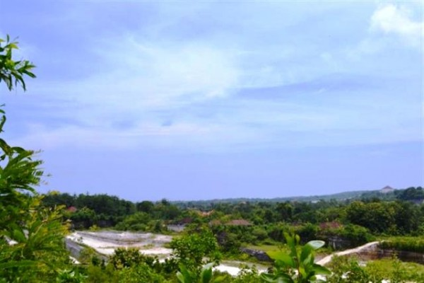 Tanah dijual di Jimbaran 1,17 Ha dengan view pantai – TJJI017