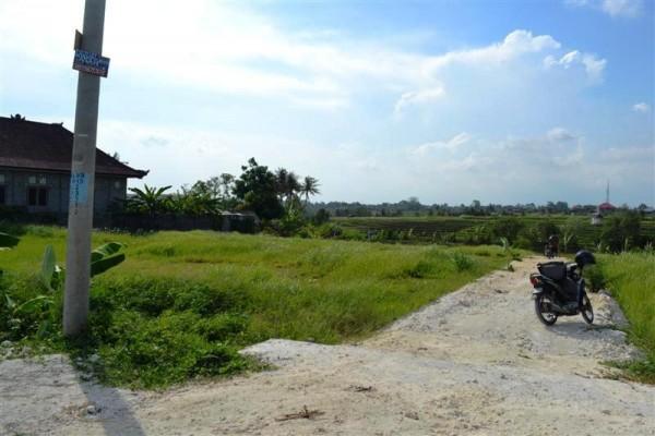 Tanah dijual di Canggu view sawah – TJCG071