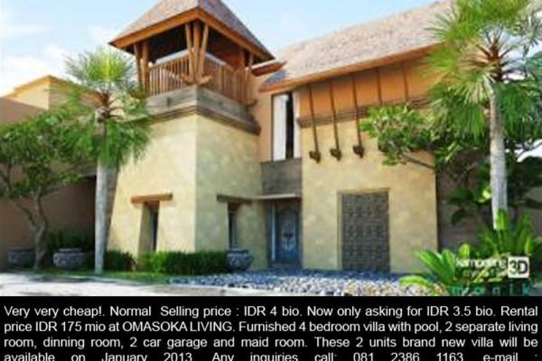 Dijual Rumah di Denpasar Style Villa – R1092