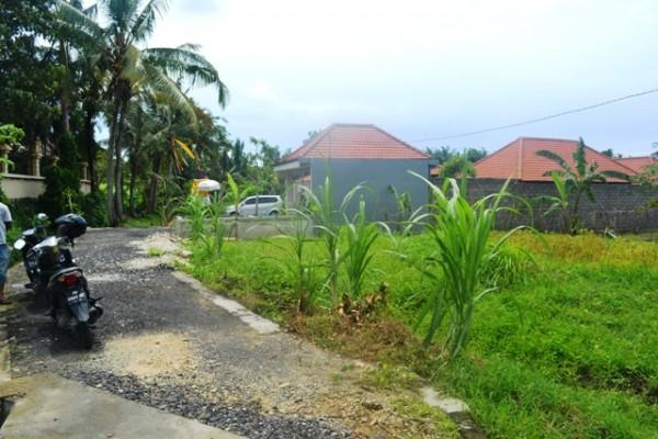 Tanah dijual di Canggu, lingkungan Villa TJCG087