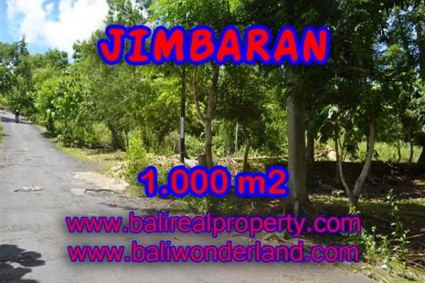 MURAH ! TANAH DI JIMBARAN BALI TJJI070-X – INVESTASI PROPERTY DI BALI