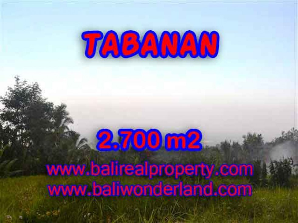DIJUAL TANAH MURAH DI TABANAN TJTB128 – PELUANG INVESTASI PROPERTY DI BALI