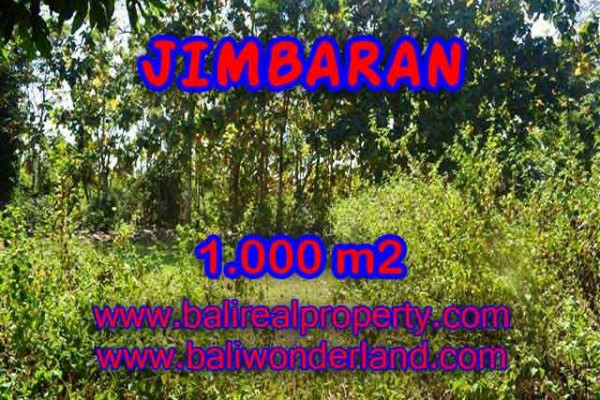 TANAH MURAH di JIMBARAN BALI 1,000 m2 di Jimbaran Ungasan
