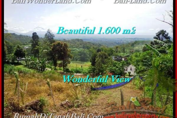 TANAH JUAL MURAH  TABANAN 16 Are view Gunung, sawah, hutan dan kota denpasar
