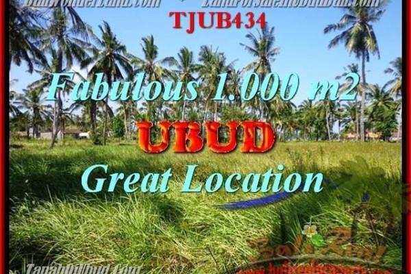 DIJUAL TANAH MURAH di UBUD 10 Are di Sentral Ubud