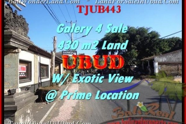 TANAH MURAH di UBUD 4,3 Are Galery / Shop