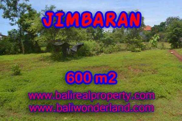 JUAL TANAH MURAH di JIMBARAN BALI 600 m2  Lingkungan villa