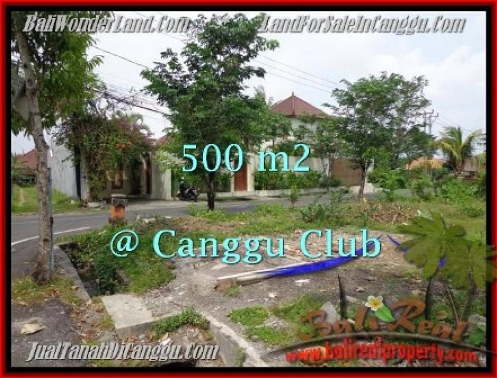 TANAH MURAH  di CANGGU BALI DIJUAL 500 m2  Lingkungan Villa