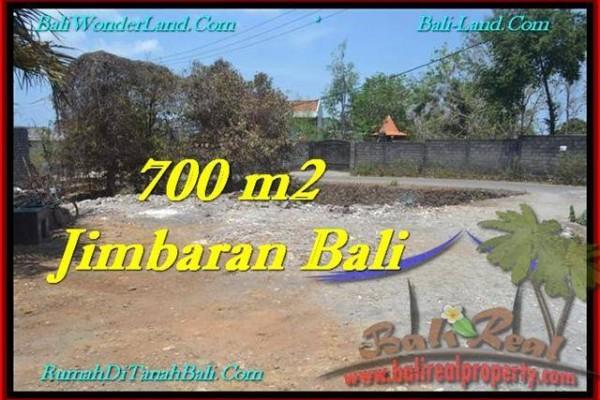 TANAH MURAH DIJUAL di JIMBARAN 700 m2 di Jimbaran Ungasan