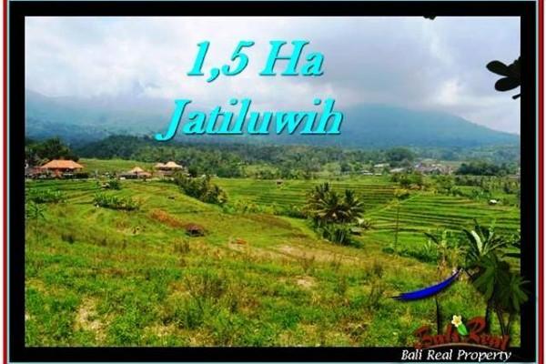 JUAL TANAH MURAH di TABANAN 150 Are View Gunung, sawah