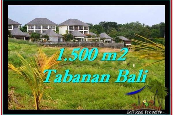 TANAH MURAH JUAL di TABANAN BALI 15 Are View sawah, laut dan gunung