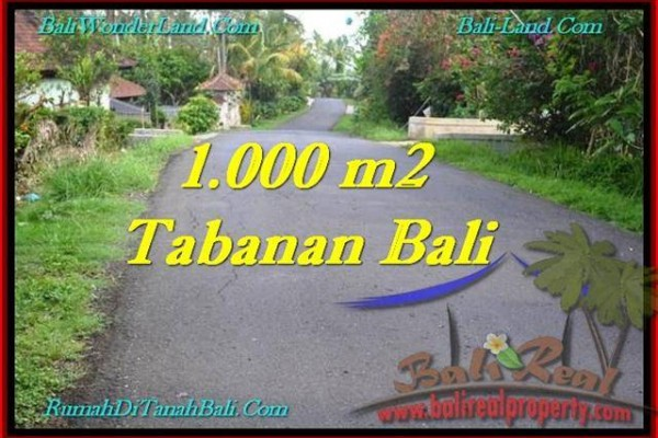 JUAL TANAH MURAH di TABANAN 10 Are View Kebun