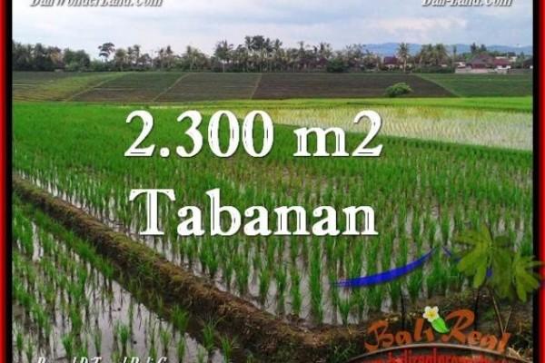 INVESTASI PROPERTY, JUAL TANAH MURAH di TABANAN BALI TJTB263