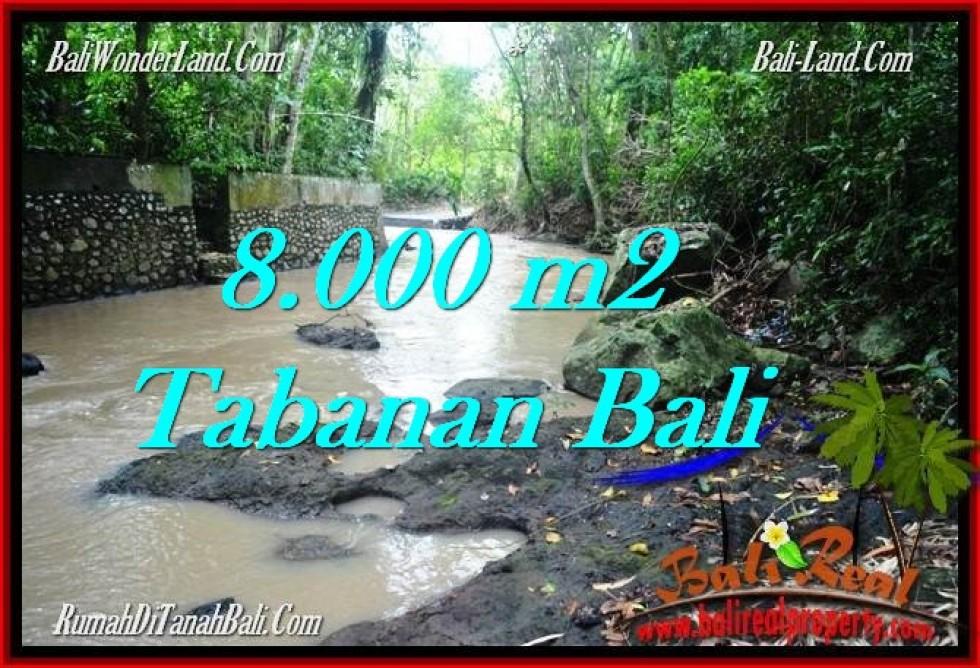 DIJUAL TANAH di TABANAN 8,000 m2 di Tabanan Selemadeg