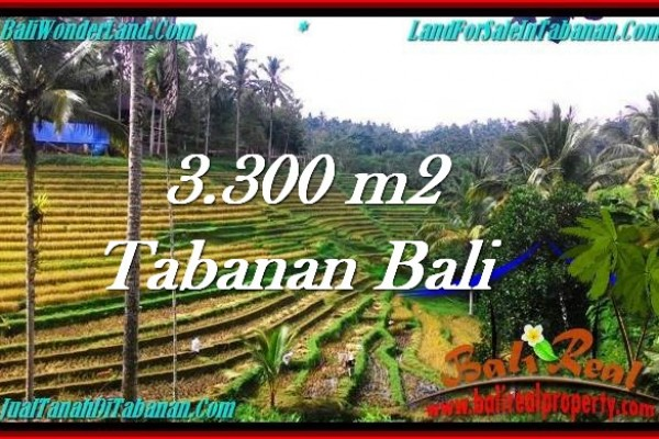 TANAH MURAH DIJUAL di TABANAN BALI Untuk INVESTASI TJTB274