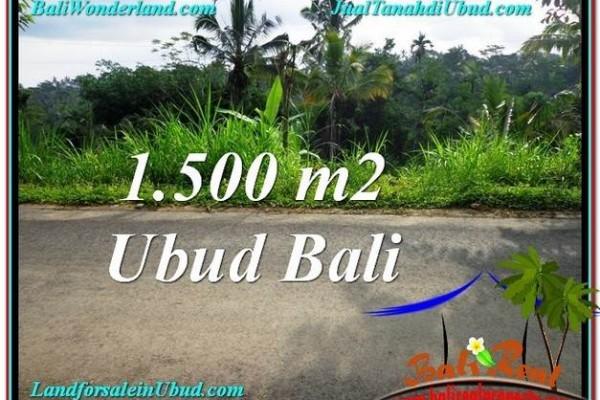 DIJUAL TANAH di UBUD Untuk INVESTASI TJUB556