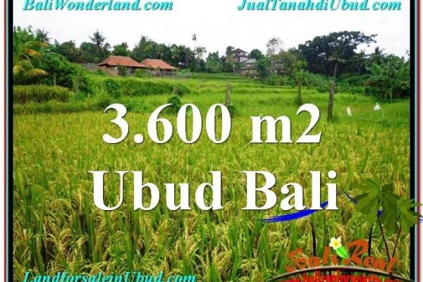 INVESTASI PROPERTI, DIJUAL TANAH di UBUD BALI TJUB566