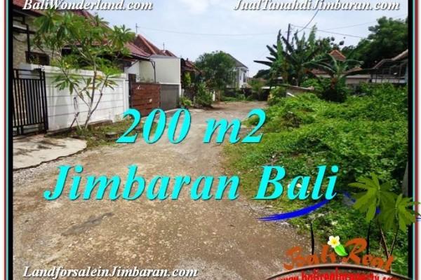 TANAH MURAH di JIMBARAN JUAL 200 m2  Lingkungan Villa
