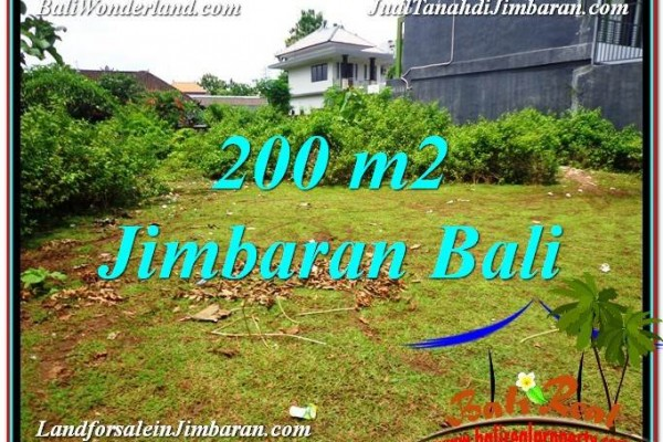 TANAH DIJUAL di JIMBARAN BALI 200 m2 di Jimbaran Ungasan