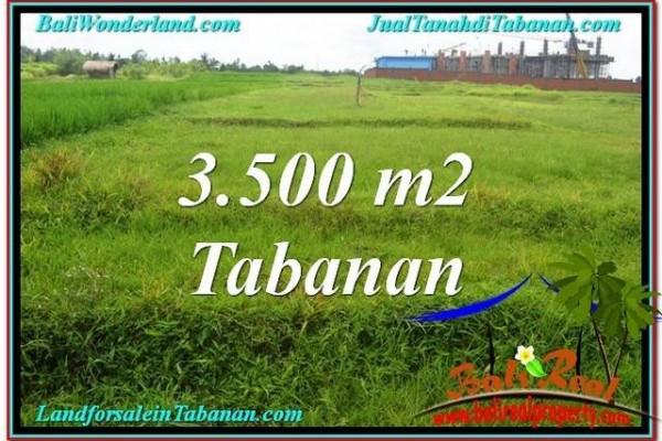 JUAL TANAH MURAH di TABANAN 35 Are View Sawah