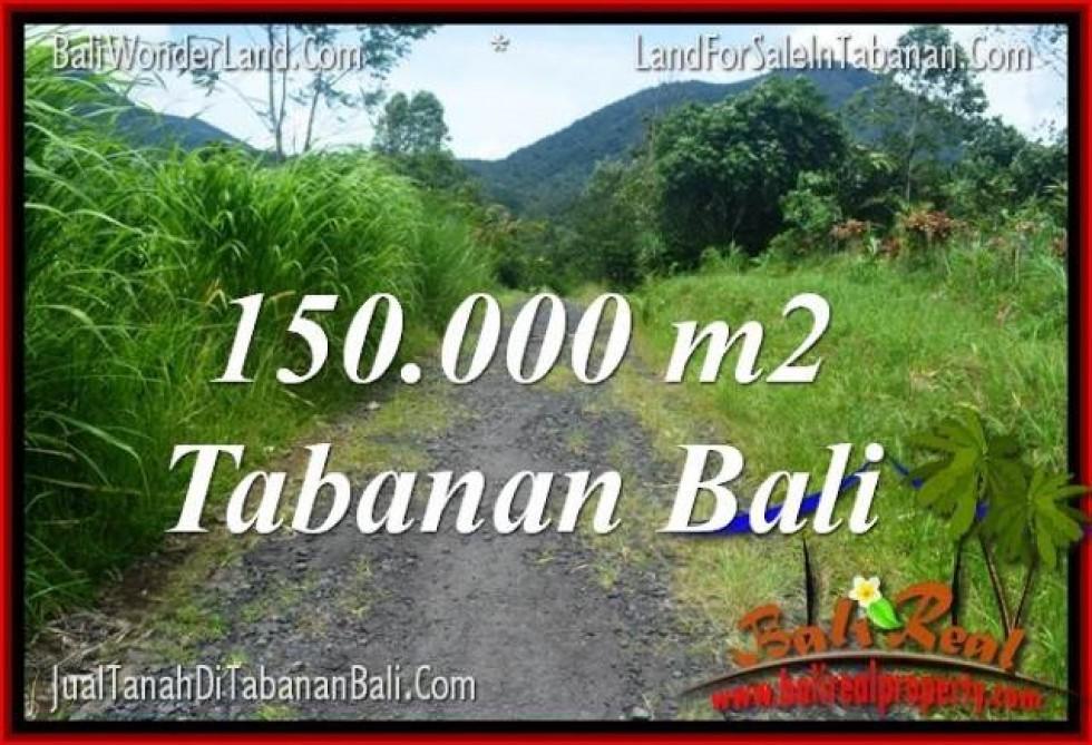 TANAH MURAH di TABANAN JUAL 1500 Are View gunung dan sawah