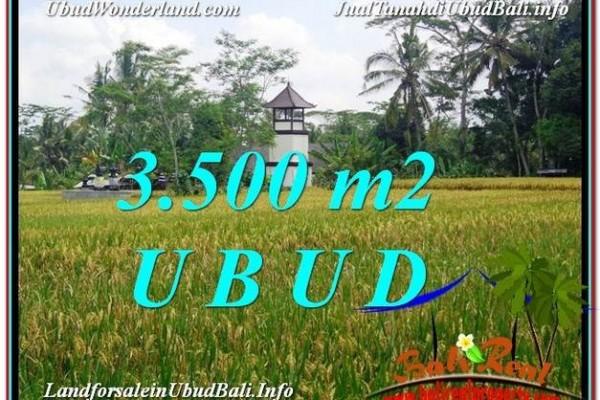TANAH DIJUAL MURAH di UBUD BALI TJUB596