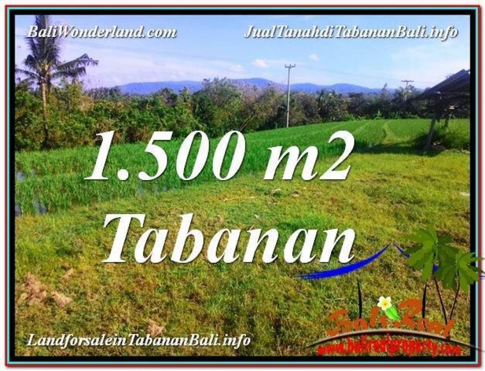 INVESTASI PROPERTY, TANAH MURAH di TABANAN BALI DIJUAL TJTB353