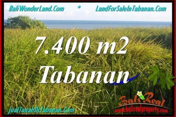 TANAH di TABANAN JUAL MURAH 74 Are View Laut, Gunung dan sawah