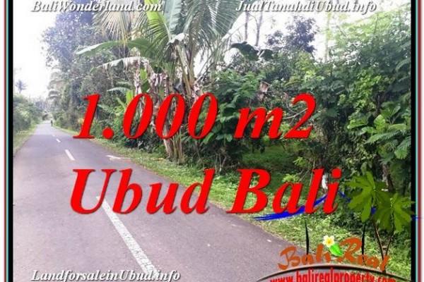 TANAH MURAH di UBUD BALI Untuk INVESTASI TJUB614