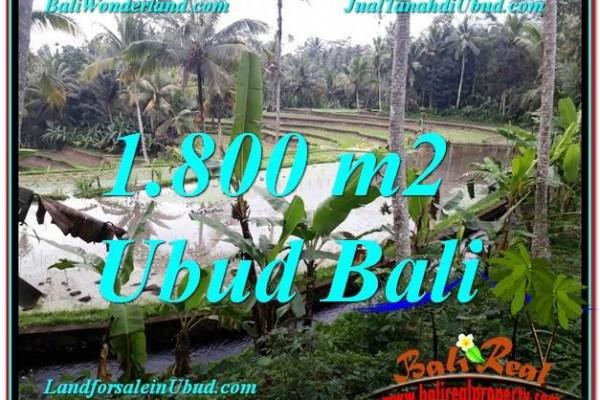 INVESTASI PROPERTI, DIJUAL TANAH di UBUD BALI TJUB616