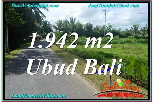 JUAL TANAH MURAH di UBUD BALI 19 Are di Ubud Pejeng