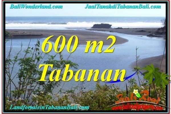 TANAH MURAH di TABANAN JUAL 600 m2  View sungai