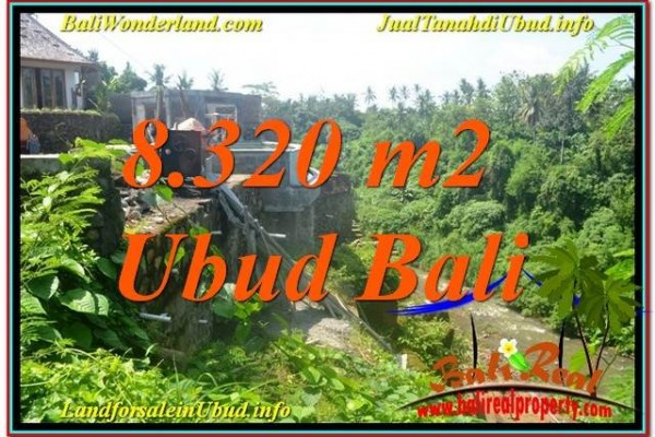 TANAH MURAH DIJUAL di UBUD BALI 8,320 m2 di Sentral / Ubud Center
