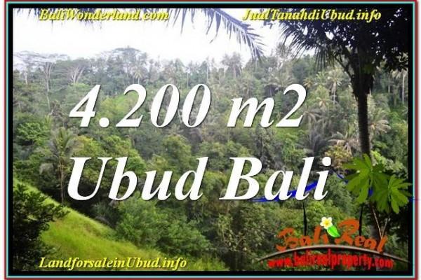 INVESTASI PROPERTI, DIJUAL MURAH TANAH di UBUD BALI TJUB639