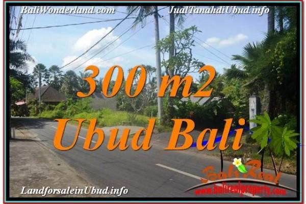 TANAH MURAH di UBUD BALI 300 m2 di Sentral / Ubud Center