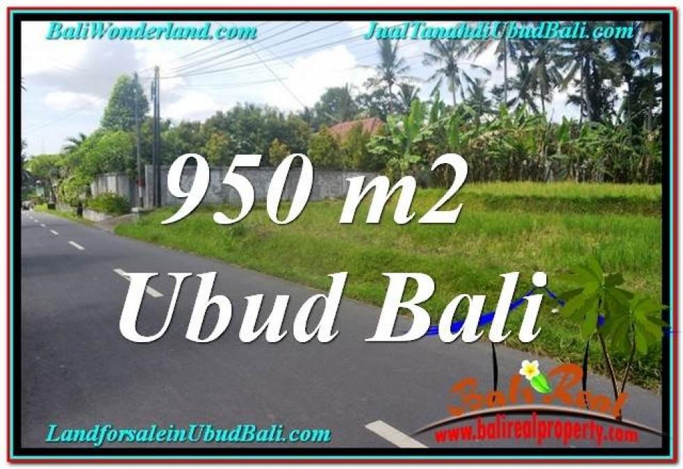 DIJUAL TANAH di UBUD BALI Untuk INVESTASI TJUB648