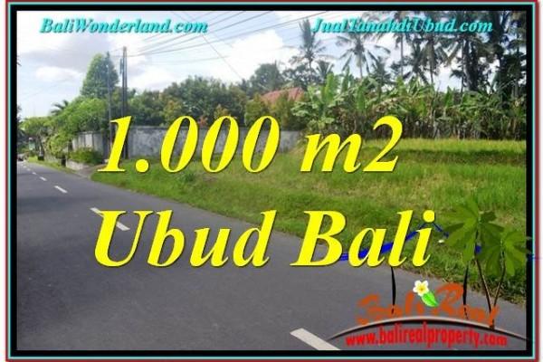 DIJUAL MURAH TANAH di UBUD BALI Untuk INVESTASI TJUB649