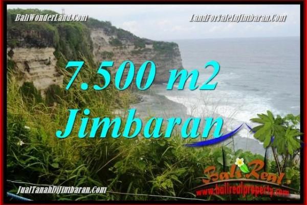JUAL TANAH di JIMBARAN 7,500 m2 di Jimbaran Uluwatu