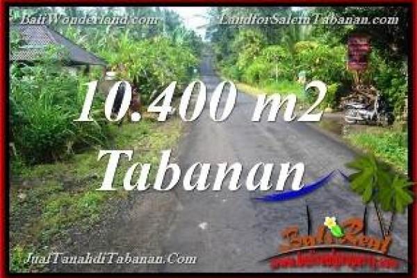 TANAH MURAH di TABANAN BALI DIJUAL 104 Are View Kebun dan Sungai