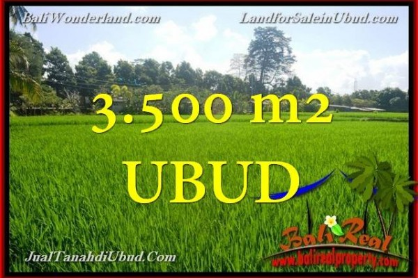 DIJUAL TANAH MURAH di UBUD 3,500 m2 di Ubud Gianyar