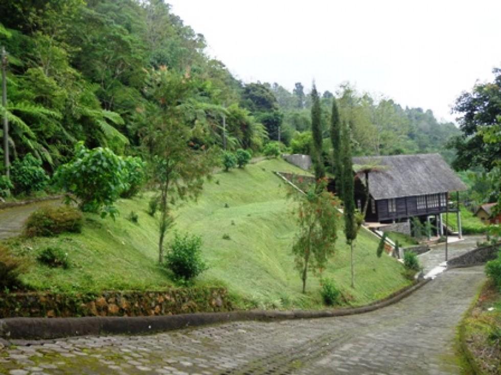 Villa dijual murah di bedugul Bali,dengan view Gunung dan Danau – TJBE024