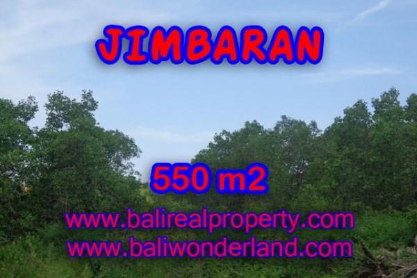 Jual tanah 550 m2 di Bali Lingkungan Perumahan di Jimbaran Uluwatu