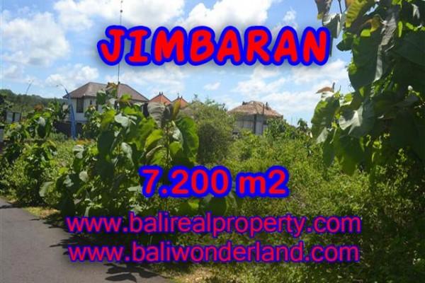 Jual tanah di Bali 7.200 m2 di Jimbaran Ungasan