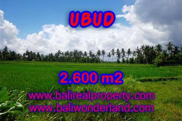 Jual Tanah murah di UBUD TJUB374 – Kesempatan investasi property di Bali