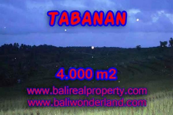 Murah ! Tanah di TABANAN Bali Dijual TJTB096