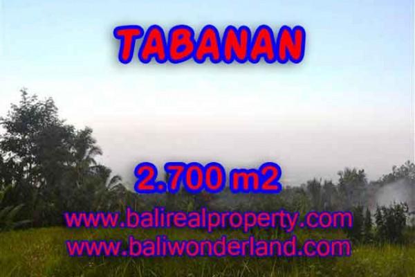 INVESTASI PROPERTI DI BALI – TANAH DIJUAL DI TABANAN CUMA RP 370.000 / M2