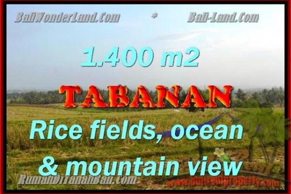 DIJUAL TANAH DI TABANAN BALI MURAH TJTB143 – INVESTASI PROPERTY DI BALI
